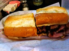 Had to Take Tommy to Firestone to Eat the Tri-tip Sandwich!