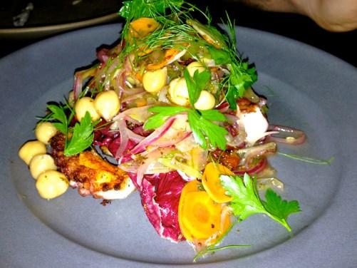 Octopus Salad.