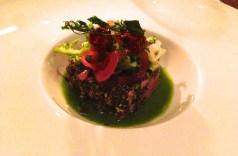 Tuna with Herbs.