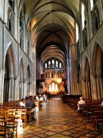 Inside Saint Patrick's Cathedral.