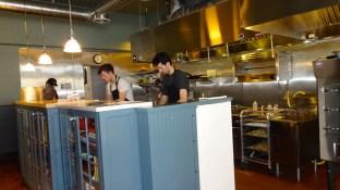 Open Kitchen.