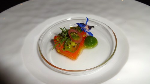 Sakuramasu: Japanese Cherry Trout with Dill and Cucumber (9/10).