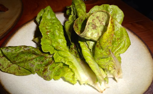 Lettuce Wraps for the Squab.