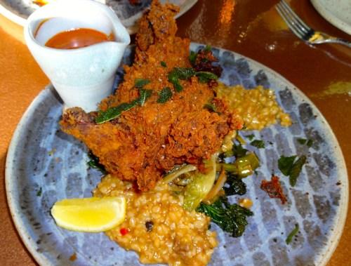 Tikka Masala Fried Chicken with