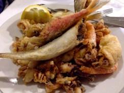 Fried Mixed Fish.