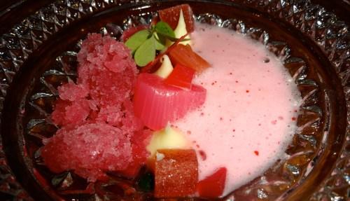 Close Up of the Pre-Dessert.