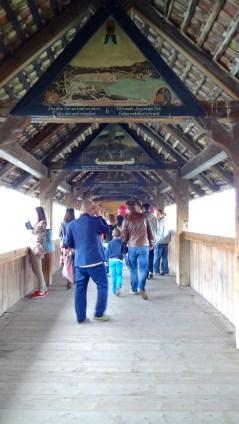 On the Chapel Bridge.