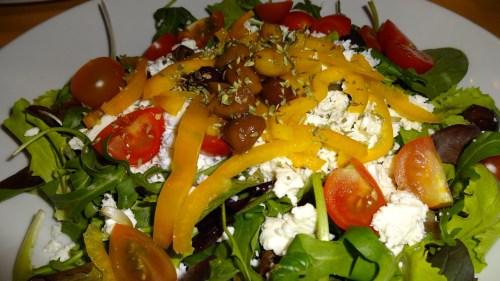 Greek Salad (7/10).