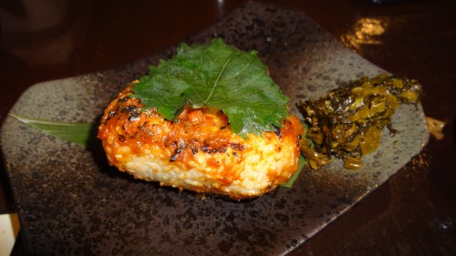 Onigiri: Pan Fried Rice Ball (7/10).