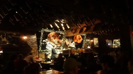 Inside Pat O'Brien's.
