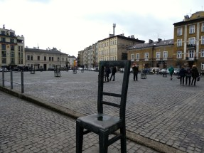The Ghetto Heroes Square.