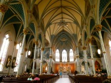 Inside Cathedral of St. John the Baptist.