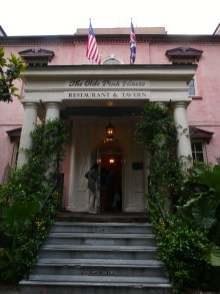 Olde Pink House.