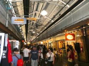 Inside Chelsea Market.