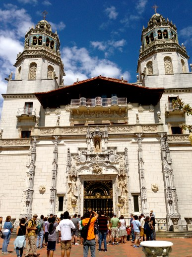 Part of the Estate at Hearst Castle.