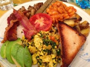 Mixed Breakfast Platter.