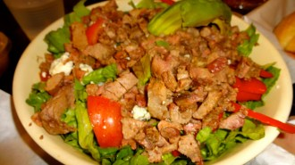 Steak Cobb Salad.