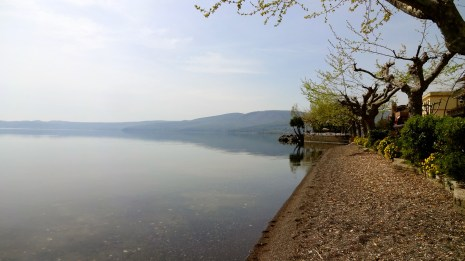 Lake Bracciano.