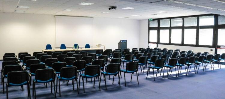 Sala riunioni 130 posti Modena