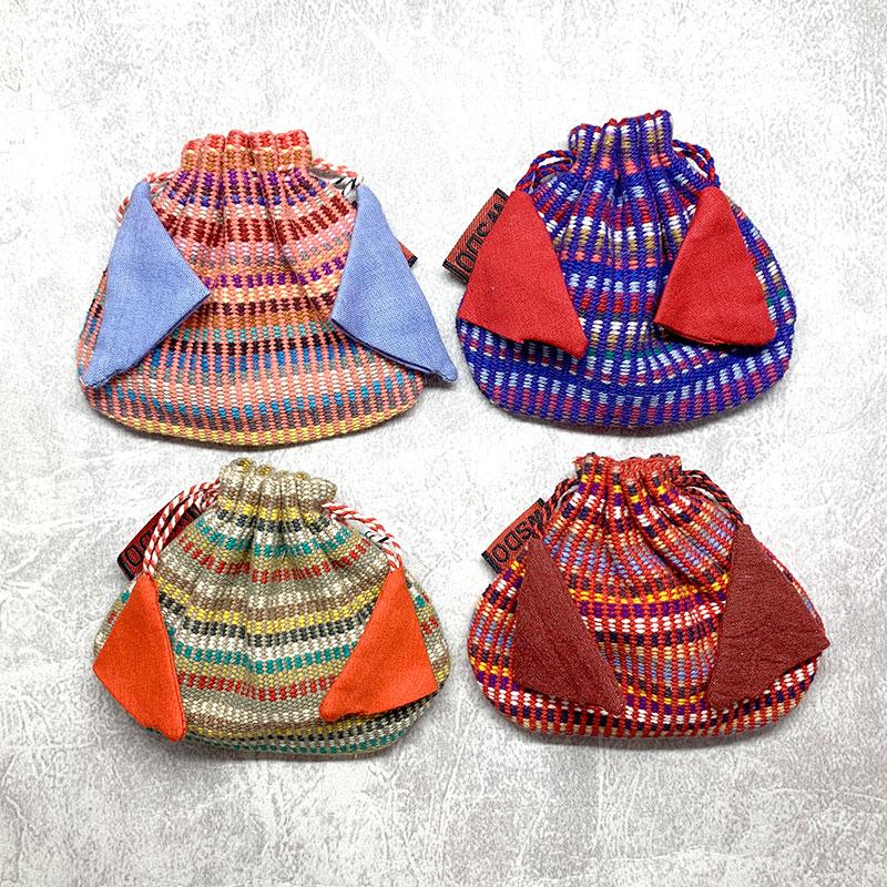 尼泊爾手工 索繩小袋