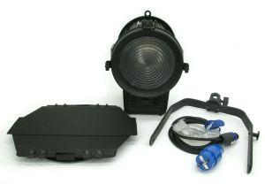 """LIGHTSTAR LED LITE 5600K 120 Watt Daylight 6"""" Fresnel Light w/ DMX + Barn Doors"""
