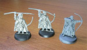 Lot 3 Lord of The Rings LOTR Rangers The North GW Metal Figurines
