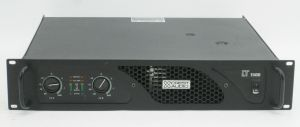 Rack-Mount Crest Audio LT1500 LT 1500 Power Amplifier Amp 400W /CH @ 8-OHMS