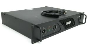 Rackmountable Crest Audio LT1000 LT 1000 500 Watt Power Amplifier Amp #2