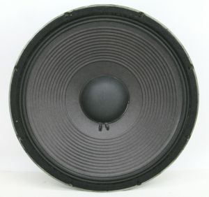 "Vintage Single JBL 15"" Inch E140-8 8 OHM Bass Woofer Speaker"
