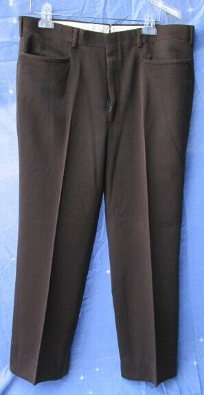 Carroll & Co Suit Pants Slacks Trousers Dress Pants Brown #76 wool Fully Lined