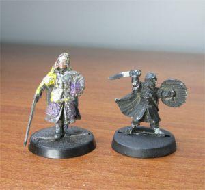 Lord of The Rings LOTR Eowyn Merry Games Workshop Metal Figurines