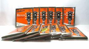 Lot 10 Gibson G-200SUL Bronze  Acoustic Guitar Strings Super Ultra Light 10/47