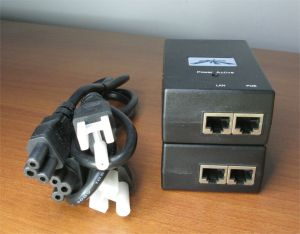 Lot of 2 Ubiquiti GP-D480-050G External POE Gigabit Adapter w/ Power Supply