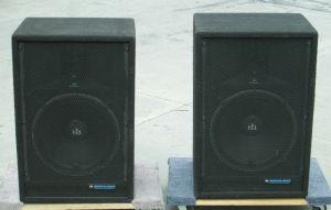 """PAIR of Renkus & Heinz FRS-151B Full Range 2-Way PA Speakers 15"""" FRS-151"""