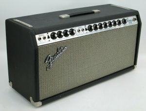 1977 Silver Face Fender DUAL SHOWMAN REVERB Tube Amp Head