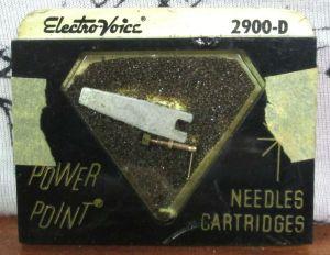 Electro Voice 2900-D Diamond Needle Cartridge for RCA 74067 74625