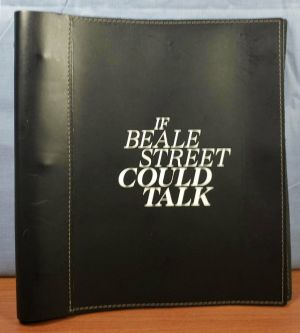 IF BEALE STREET COULD TALK 2018 FYC PROMO Leather Bound SCREENPLAY Script SIGNED