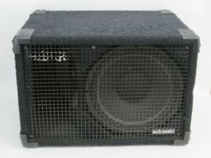 "Tech Sound Systems Bass Line Classic Dual 12"" inch PA Subwoofer 200W Speaker Cab"