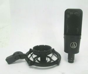 AUDIO TECHNICA AT4033A AT4033 CARDIOID MICROPHONE W/ SHOCK MOUNT