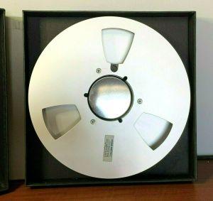"""Ampex 456 1"""" Metal Empty Reel to Reel Tape"""