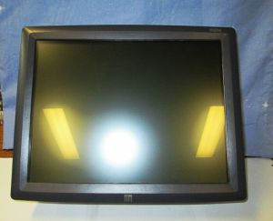 "ĒLO ENTŪITIVE TOUCH SYSTEMS 15"" TOUCH SCREEN MODEL ET1529L-8CWA-1-GY-G"