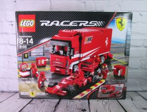 Lego Racers 8185 Ferrari Truck World Championships 534 pcs New Sealed