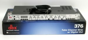 Rack Mount DBX Tube Channel Strip w/ Digital Out model 376