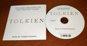 TOLKIEN Movie Best Original Score SOUNDTRACK CD For Your Consideration FYC J.R.R