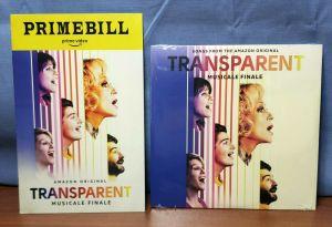 TRANSPARENT Musicale Finale PRIMEBILL + Soundtrack Vinyl Record FYC PRESS KIT