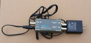 Aja Video Model D4E Serial Digital Encoder with Power Supply