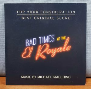 BAD TIMES AT THE EL ROYALE Movie FYC Best Original Score Music CD Soundtrack
