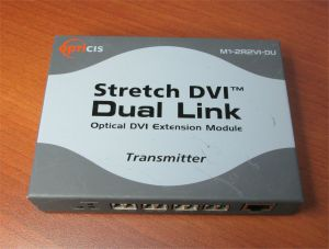 Opticis M1-2R2VI-DU Stretch DVI Dual Link Optical Eztension Module Transmitter