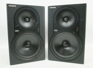 PAIR of Mackie HR824 High Resolution Studio Monitors Speakers #580