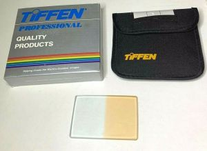 TIFFEN 2×3 CLR Coral 1/2 SU HV Glass Square Camera Filter